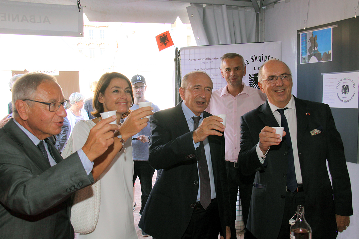 2016-Inauguration ALBANIE1