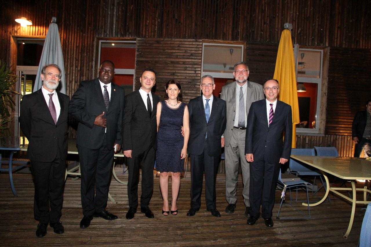 Dîner du 20 Juin 2016, en compagnie des Consuls Généraux partants