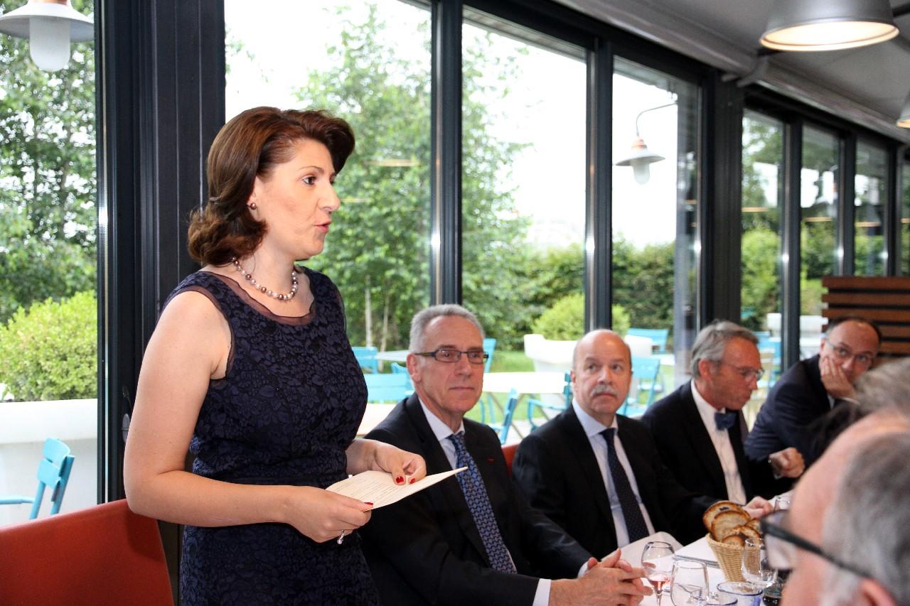 Dîner du 20 Juin 2016, Allocution de Madame le Consul Général de ROUMANIE