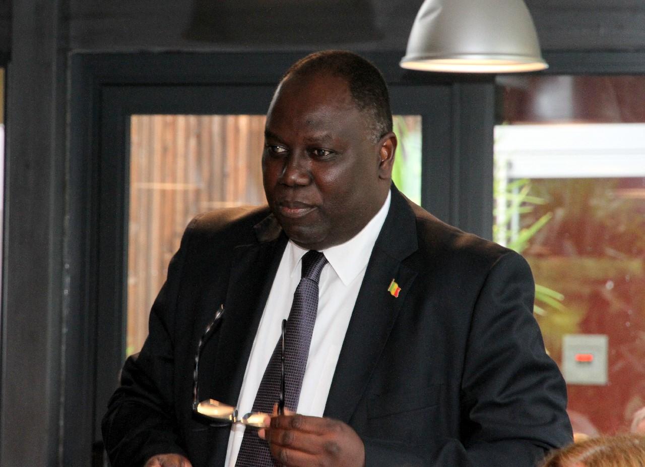 Alioune DIOP, Consul Général du SENEGAL, nouveau Doyen du Corps Consulaire de LYON