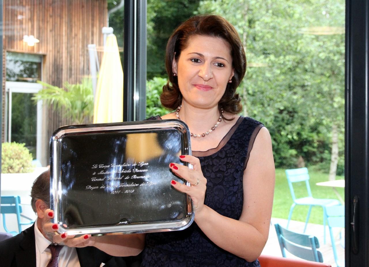Gabriella DANCAU, Consul Général de ROUMANIE