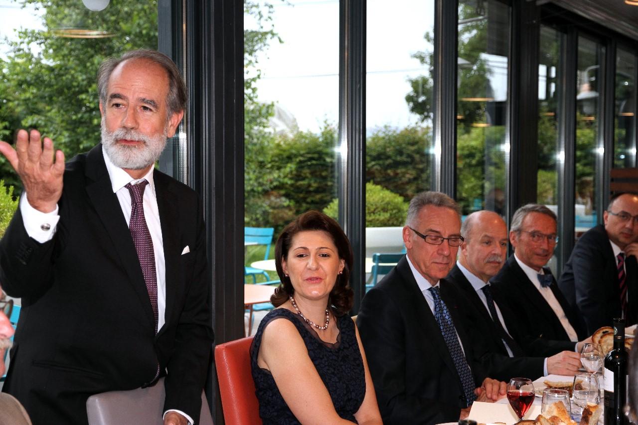 Dîner du 20 Juin 2016, Allocution de Alberto ANTON CORTES, Consul Général d'ESPAGNE