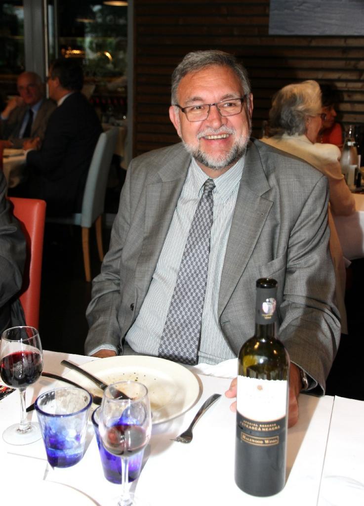 Dîner du 20 Juin 2016, François MAYOR, Consul Général de SUISSE