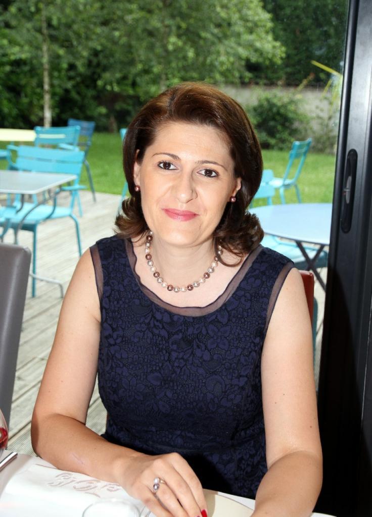 Gabriella DANCAU, Consul Général de ROUMANIE, Doyen partant du Corps Consulaire