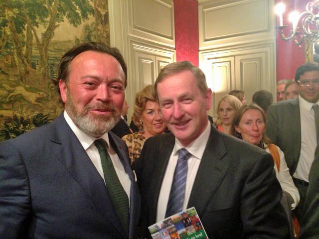 Visite du Premier Ministre Irlandais - Septembre 2015