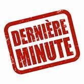 Derniere minute