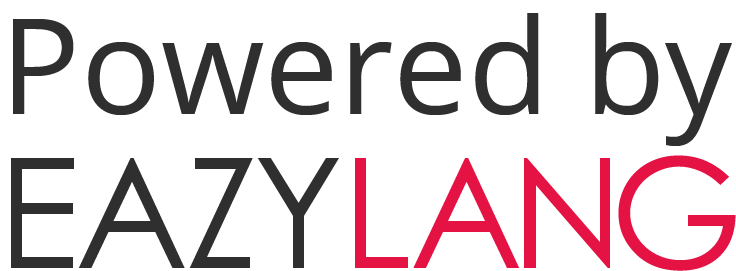 Powered by eazylang logo