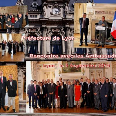 Rencontre avec les ambassadeurs